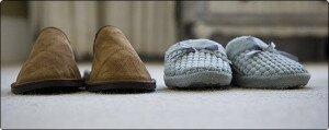 Домашние тапочки – символ неволи или супружеской верности