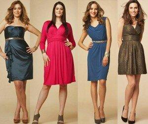 Платье и женская фигура